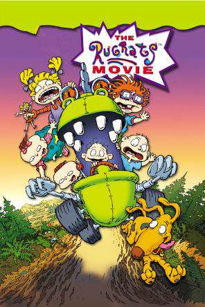 The Rugrats Movie, On Demand Movie, Animated DigitalMovies, Comedy