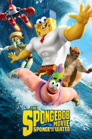 The Spongebob Movie: Sponge Out Of Water, On Demand Movie, Animated DigitalMovies, Comedy