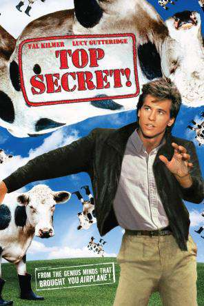 Top Secret!, On Demand Movie, Comedy