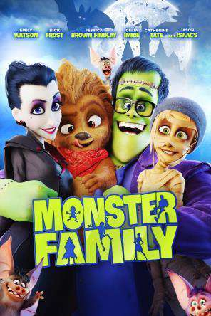 Monster Family, Movie on DVD, Family Movies, Kids