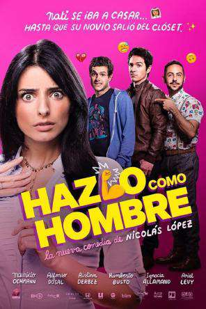 Hazlo Como Hombre, On Demand Movie, Comedy