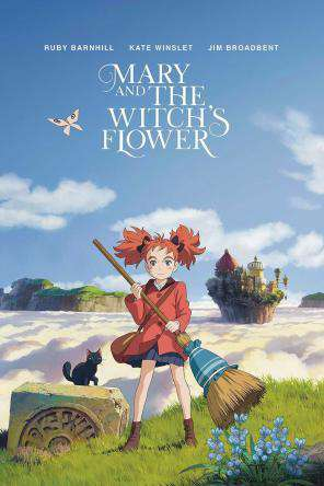 Mary And The Witch's Flower, On Demand Movie, Animated