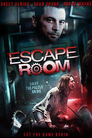 Escape Room (2017), Movie on DVD, Horror Movies, Thriller & Suspense