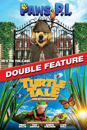 The Turtle Tale & Paws PI Double Feature, Movie on DVD, Family Movies, Kids