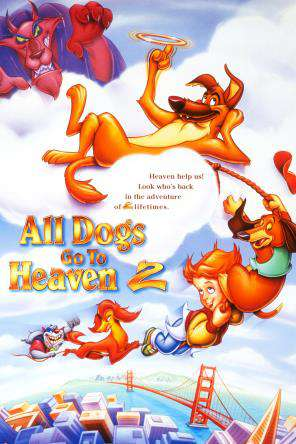 All Dogs Go To Heaven 2, On Demand Movie, Animated