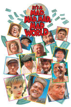 It's A Mad, Mad, Mad, Mad World, On Demand Movie, Comedy