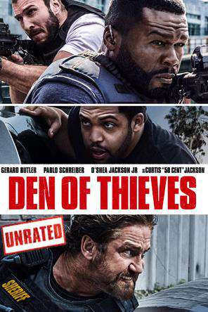 Den of Thieves: Unrated Version, On Demand Movie, Action