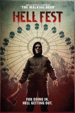 Hell Fest, Movie on DVD, Horror