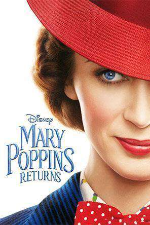 Mary Poppins Returns, Movie on DVD, Family Movies, Kids
