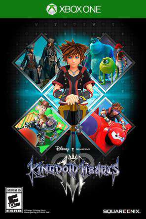 Rent + KINGDOM HEARTS III | Video Game Rentals from Redbox