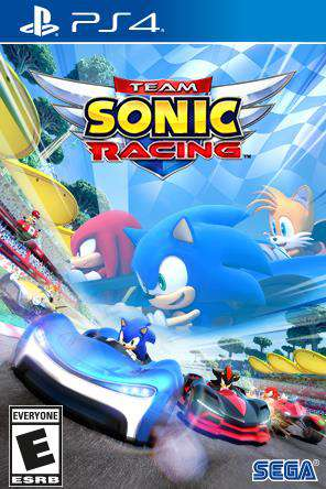 Team Sonic Racing for Rent, & Other New Releases on PS4 at