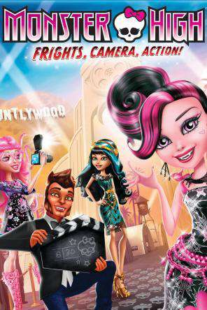 Monster High: Frights, Camera, Action, On Demand Movie, Animated DigitalMovies, Family