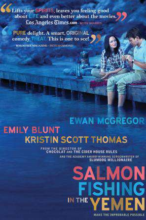 Salmon Fishing in the Yemen, Movie on DVD, Comedy Movies, Drama Movies, Special Interest Movies, Romance