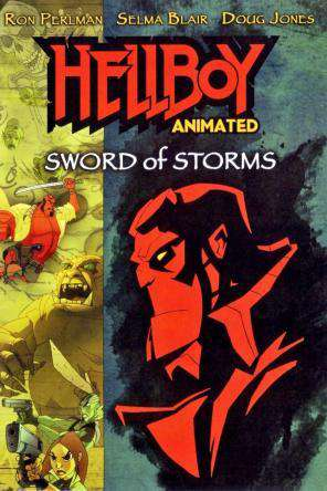 Hellboy: Sword Of Storms, On Demand Movie, Action DigitalMovies, Animated