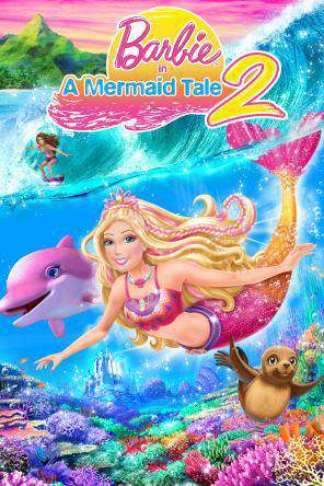 Barbie in a Mermaid Tale 2, Movie on DVD, Animated Movies, Family