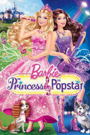Barbie: Princess and the Pop Star, On Demand Movie, Animated DigitalMovies, Family