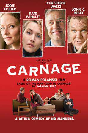 Carnage, Movie on DVD, Comedy Movies, Drama Movies, Special Interest