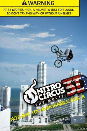 Nitro Circus: The Movie, Movie on DVD, Comedy