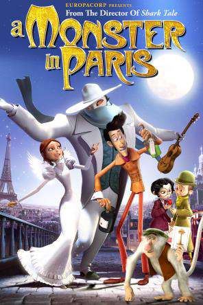 A Monster in Paris, Movie on DVD, Adventure Movies, Animated Movies, Kids Movies, Family Movies, Special Interest