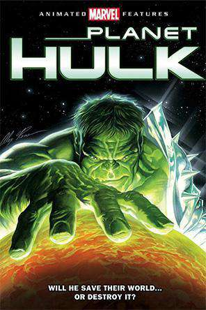 Planet Hulk, On Demand Movie, Action DigitalMovies, Adventure DigitalMovies, Animated