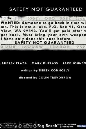 Safety Not Guaranteed, Movie on DVD, Comedy