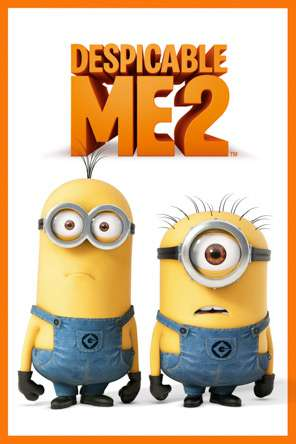 Despicable Me 2, Movie on DVD, Family