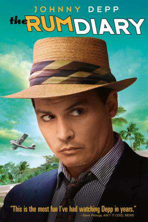 The Rum Diary, Movie on DVD, Comedy Movies, Drama Movies, Romance