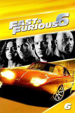 Fast & Furious 6, Movie on DVD, Action