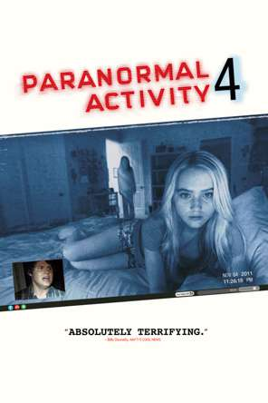 Paranormal Activity 4, Movie on DVD, Horror Movies, Action