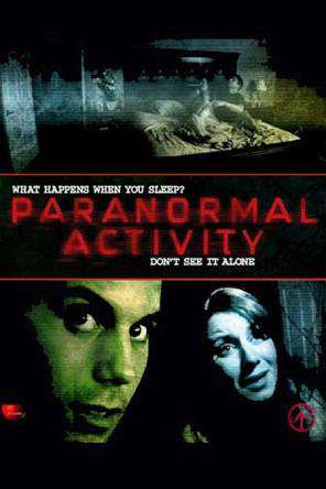 Paranormal Activity, Movie on DVD, Horror Movies, Thriller & Suspense