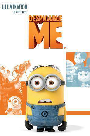 Despicable Me, Movie on DVD, Family