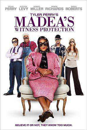 Tyler Perry's Madea's Witness Protection, Movie on DVD, Comedy