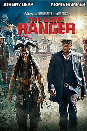 Lone Ranger, Movie on DVD, Action Movies, Adventure