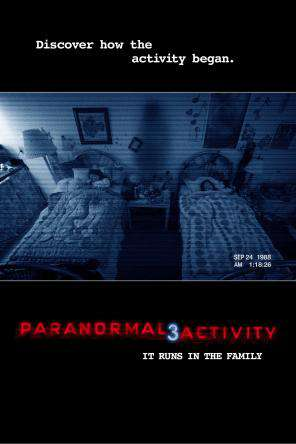 Paranormal Activity 3, Movie on DVD, Horror Movies, Thriller & Suspense