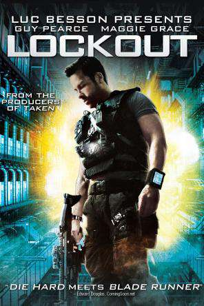 Lockout, Movie on DVD, Action Movies, Sci-Fi & Fantasy