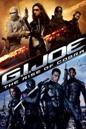 G.I. Joe: The Rise of Cobra, Movie on DVD, Action