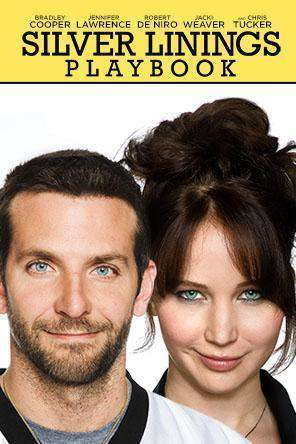 Silver Linings Playbook, Movie on DVD, Comedy Movies, Romance