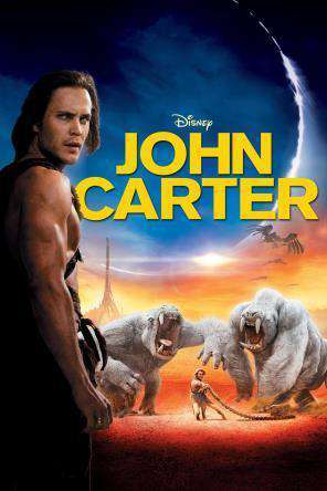 John Carter, Movie on DVD, Action Movies, Adventure Movies, Special Interest Movies, Sci-Fi & Fantasy