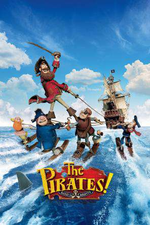 The Pirates! Band of Misfits, Movie on DVD, Adventure Movies, Animated Movies, Comedy Movies, Family