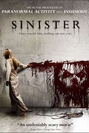 Sinister, Movie on DVD, Horror