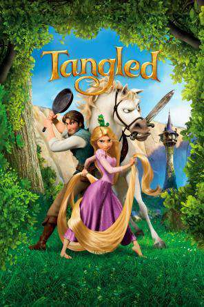 Tangled, Movie on DVD, Family