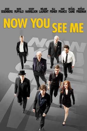 Now You See Me, Movie on DVD, Action Movies, Thriller & Suspense