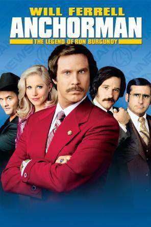 Anchorman: The Legend of Ron Burgundy, Movie on DVD, Comedy