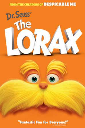 Dr.Seuss' The Lorax (2012), Movie on DVD, Adventure Movies, Animated Movies, Kids Movies, Family