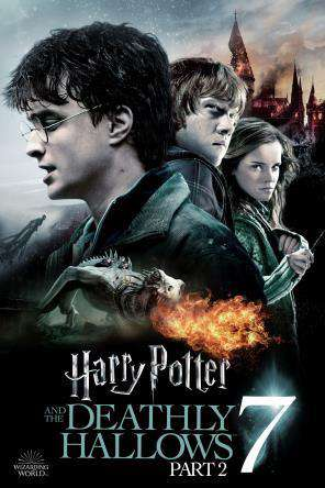 Harry Potter & the Deathly Hallows: Part 2, Movie on DVD, Action