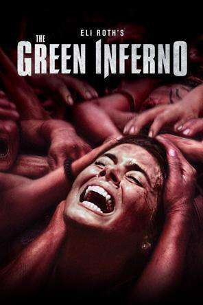 The Green Inferno, Movie on DVD, Horror Movies, Thriller & Suspense