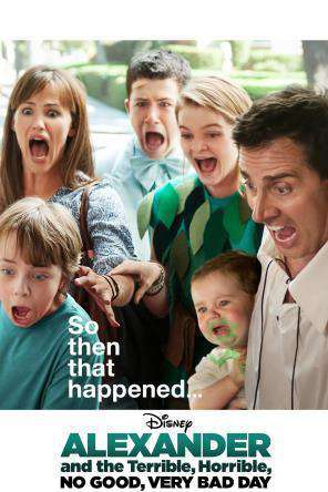 Alexander and the Terrible, Horrible, No Good, Very Bad Day, Movie on DVD, Family Movies, Comedy
