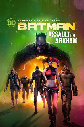 DCU Batman: Assault on Arkham, On Demand Movie, Action DigitalMovies, Adventure DigitalMovies, Animated DigitalMovies, Drama