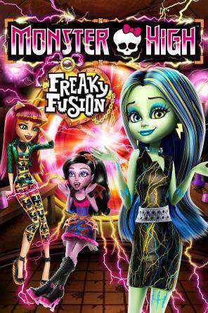 Monster High: Freaky Fusion, On Demand Movie, Animated DigitalMovies, Family