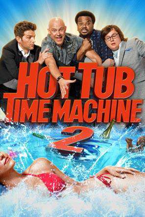 Hot Tub Time Machine 2, Movie on DVD, Comedy